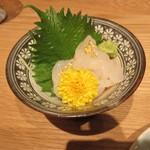 金沢まいもん寿司 珠姫 - 白海老の造り