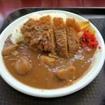 レストラン ポパイ - カツカレー¥800