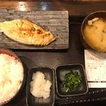 しんぱち食堂 - つぼ鯛定食