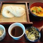 65898213 - ミニヒレカツ丼と稲庭せいろ御膳 1,805円(税別)