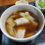 武蔵野うどん なつ丸 - 肉汁