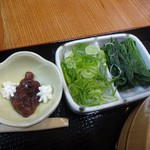 武蔵野うどん なつ丸 - 糧と餡子