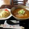 かど - 料理写真:味噌ラーメン&チャーハンセット