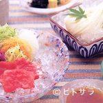 四季料理 右京 - 夏・和牛冷しゃぶと冷稲庭うどん