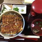 うな豊 - まぶし丼(肝吸い付き)