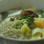 CHINESE DINING 心樹 - 野菜汁そば 800円