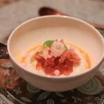 ラ・ボンバンス - ゴマ豆腐