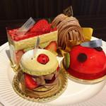 サンニコラ 香林坊店 - プランタン、フレジェ、モンブラン、コクシネル