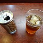 洋食のいし川  - 烏龍茶
