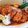 ル・ムー - 料理写真:スペイン産豚肩ロース肉のロティ香草野菜たっぷりのソース