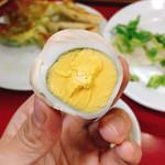 餃子の店 蘭州 - 烏龍茶卵 @120円