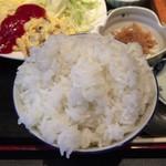やき鳥信玄 - ご飯(量はデフォルト)