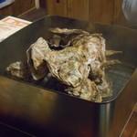 五十八 - 殻付き牡蠣のかんかん酒蒸し付き