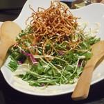 五十八 - パリパリ麺と生野菜のまぜまぜサラダ