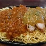 65905638 - 釧路焼きスパゲティ並盛これで500円