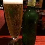 焼鳥 城 - ハートランド小瓶380円