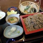 一郷庵 - 今月の蕎麦膳 1,500円(2010.11)