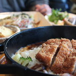 風のレストラン - カツカレー(ドリア)