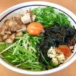 担々麺はなび - 「キミスタ」。(プレオープン価格500円、通常価格900円)