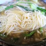 台方ラーメン - 麺