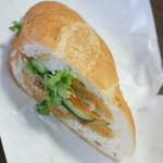 ベトナム料理専門店 サイゴン キムタン - 川崎アジアンフェスタのバインミー(500円)2017年4月