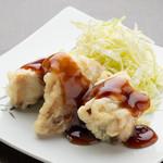 Hotomeki - 鶏の唐揚げ黒酢あんかけ