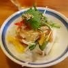 のみくい處作蔵 - 料理写真:ボリュームのあるお通し(豆腐半丁に中華ドレ仕上げ)