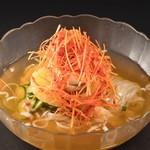 ピリ辛ネギ冷麺
