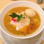 銀座 篝 - 鶏白湯味噌+味玉 1100円