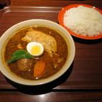 65920688 - チキンカレー+ライス(ふつう)