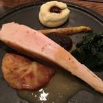 organ - 『大山鶏 胸肉のロースト 生姜風味の白ワインソース』