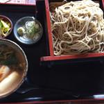 新駒本店 - 料理写真:鴨せいろそば大盛り