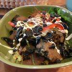 布良cafe食堂 蘇堂 - 料理写真:やみつき黒鶏丼