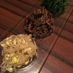 焼肉松玄 - ナムル三種