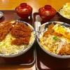 かつふじ亭 - 料理写真:お肉は4倍、ご飯は爆盛りのダブルメガ盛り丼【料理】