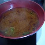 とんかつモリ - 味噌汁