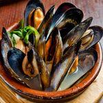 山王CAFE - ムール貝の白ワイン蒸し