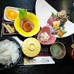 旬処 いさ路 - 刺身定食¥1930