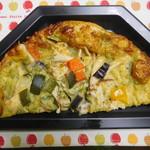 ボンニール - 料理写真:バジルチキンピザ ハーフサイズ ¥360+税