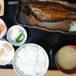ふしみ食堂 - 2017年3月 サバみりん定食 1000円
