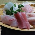 ふしみ食堂 - 2017年3月 さしみ盛定食 1300円