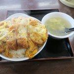 みつわ飯店 - カツ丼大盛り(¥700)