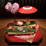 八代目儀兵衛 - 【鮨】儀兵衛の鮨米で握った鮨