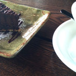 珈琲と人 - とろけるチョコレートケーキ