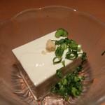 酒食彩宴 粋 - グリーン豆腐の冷奴