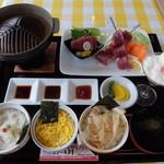 レストラン アカショウビン - 深浦マグロステーキ丼