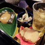唐橋茶屋 - 郷土料理の珍味(秋田名産定食)
