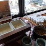イーホテル秋田 - 朝食バイキングの豆腐