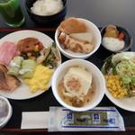 イーホテル秋田 - 朝食バイキング