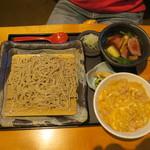 国分寺そば - 鴨出汁そばと親子丼